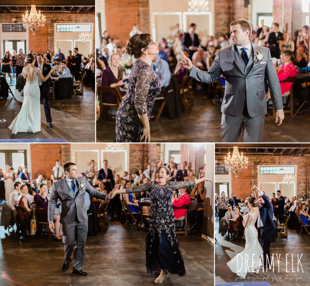 wedding reception, ashley and company, downtown 202, unforgettable floral, spring wedding photo college station texas, dreamy elk photography and design