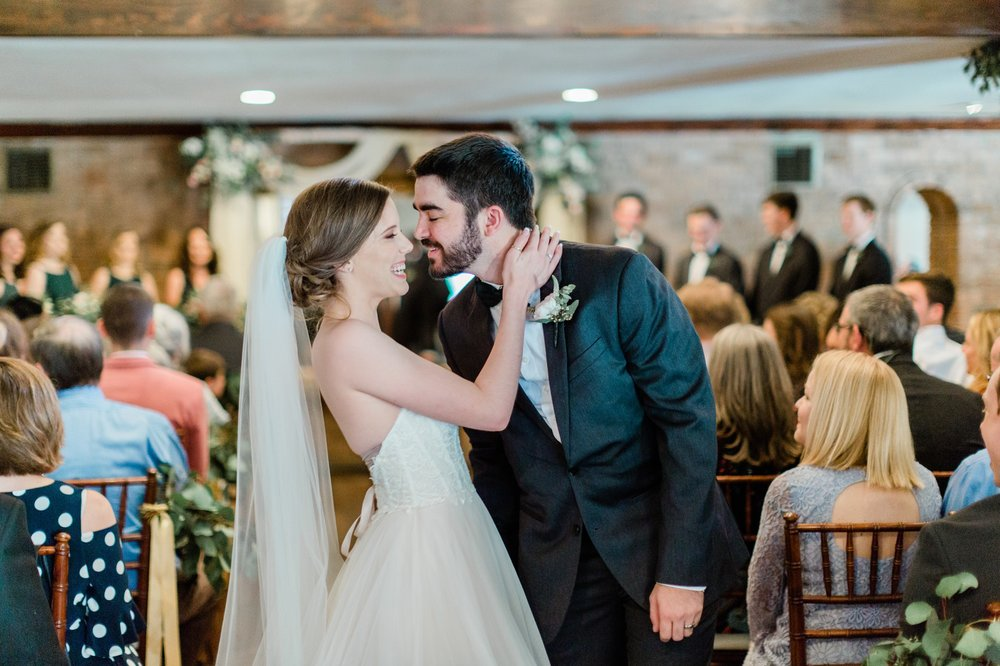 indoor wedding ceremony, spring wedding photo, the gallery, houston, texas, dreamy elk photography and design