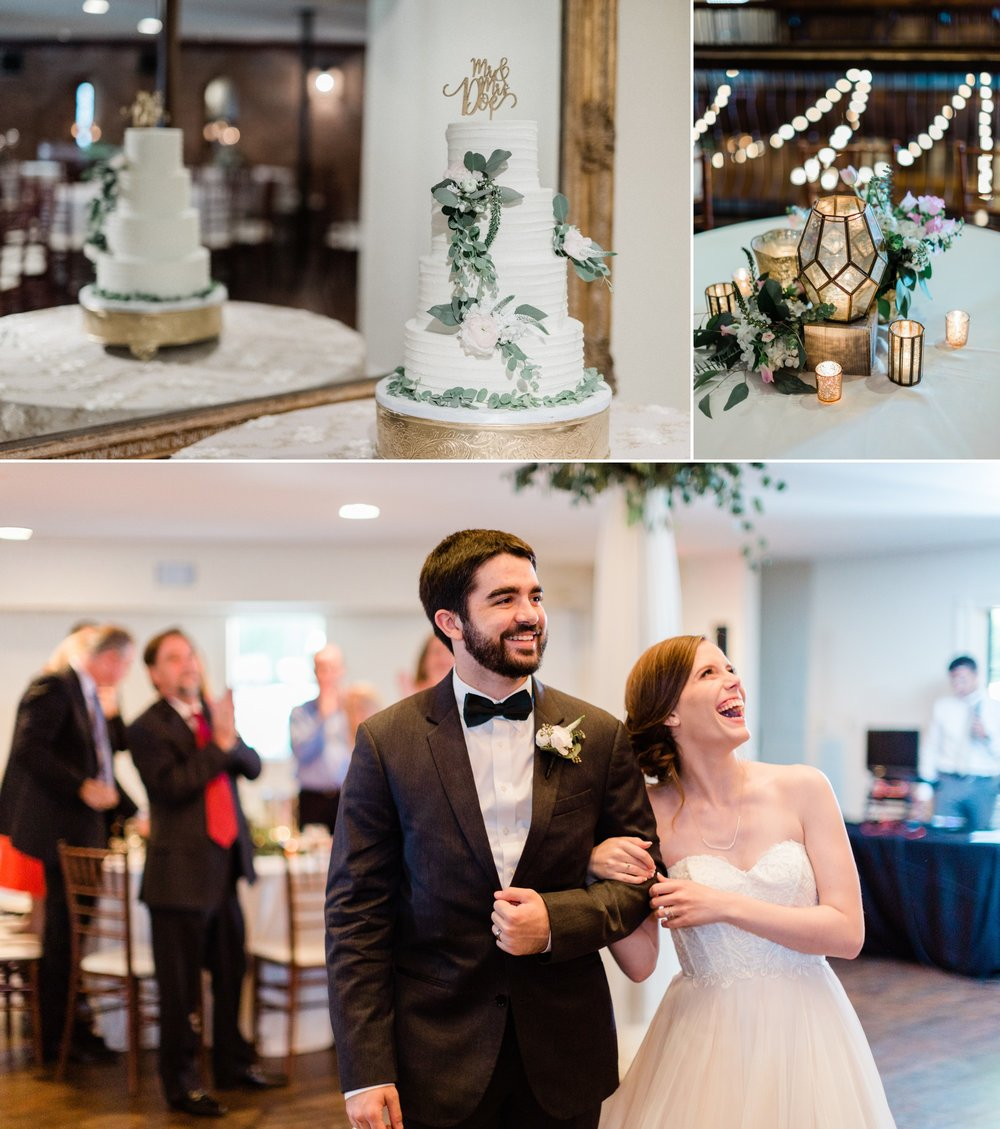 indoor wedding reception, poison ivy floral design, spring wedding photo, the gallery, houston, texas, dreamy elk photography and design