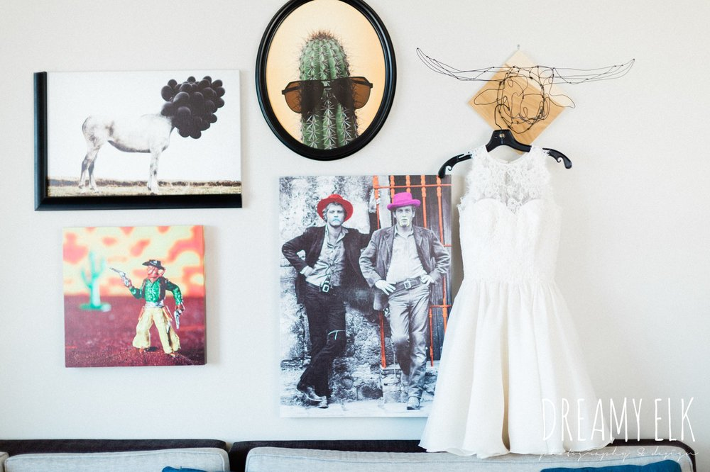 michael faircloth designs short wedding dress, spring colorful wedding photo, 809 at vickery, fort worth, texas, dreamy elk photography and design, jen rios weddings, kate foley designs