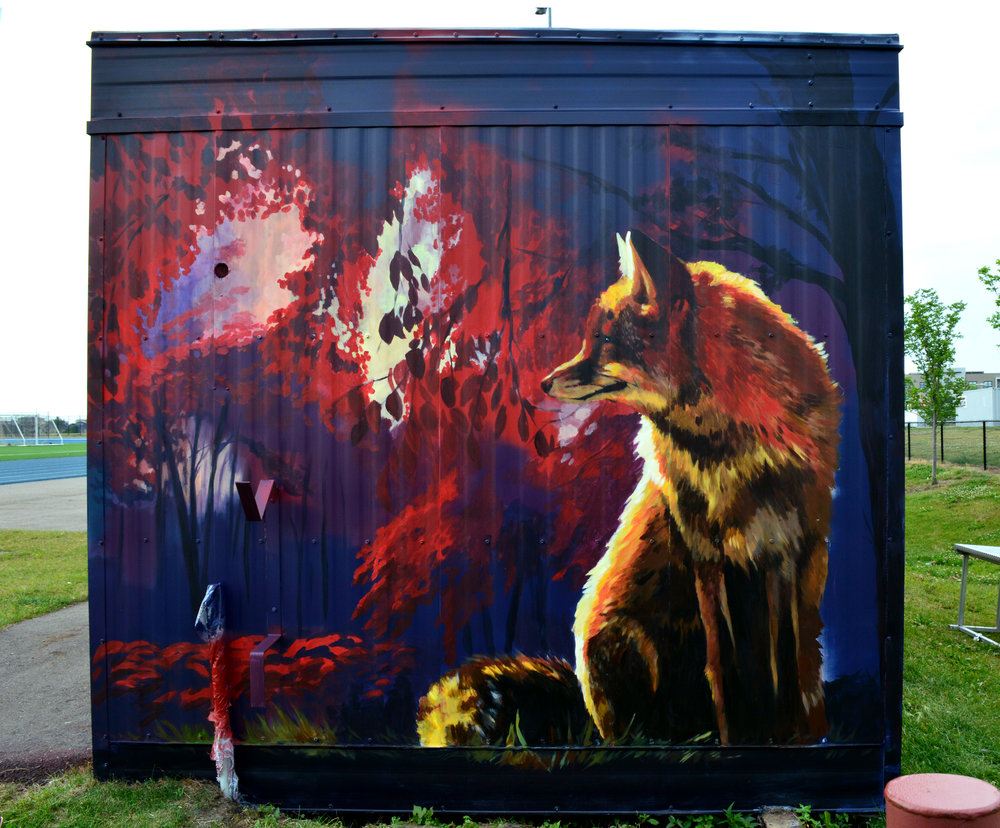 """Wood Buffalo"" murals -"