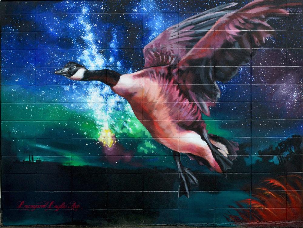 """""""Joeys"""" murals -"""