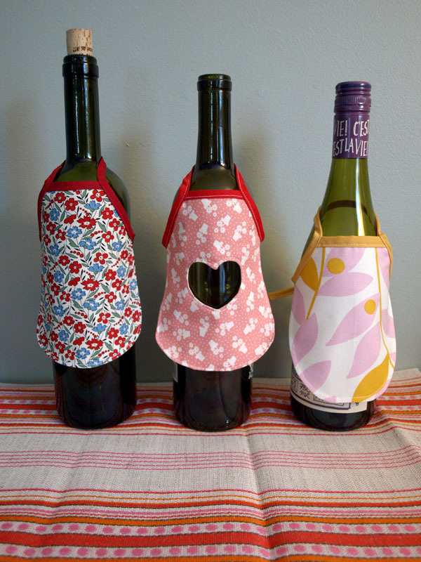 Valentine's Day, Wine Aprons