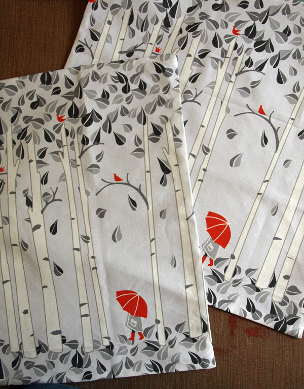 Birch tree pillows now in 20x20 as well….