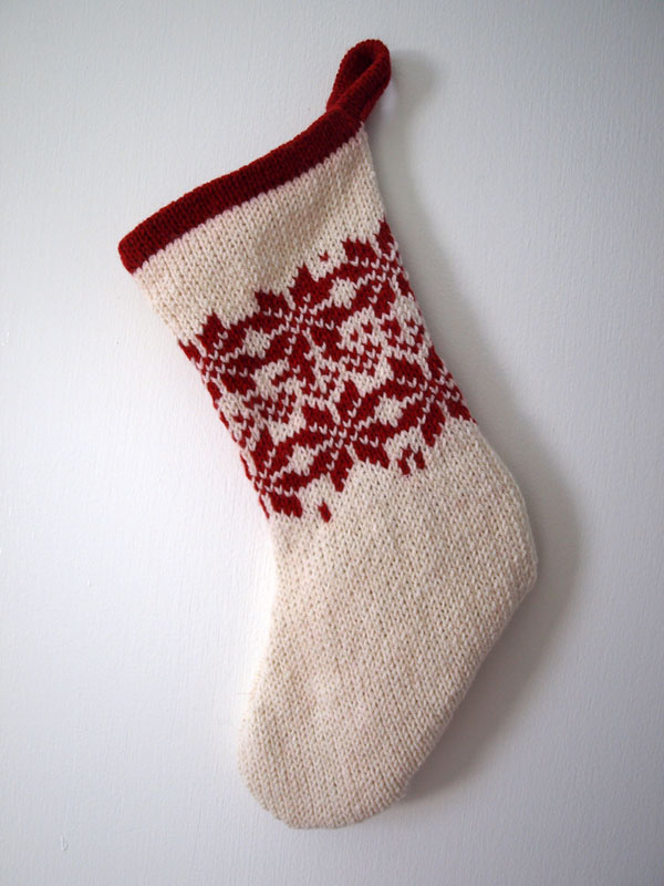 Finished another stocking…