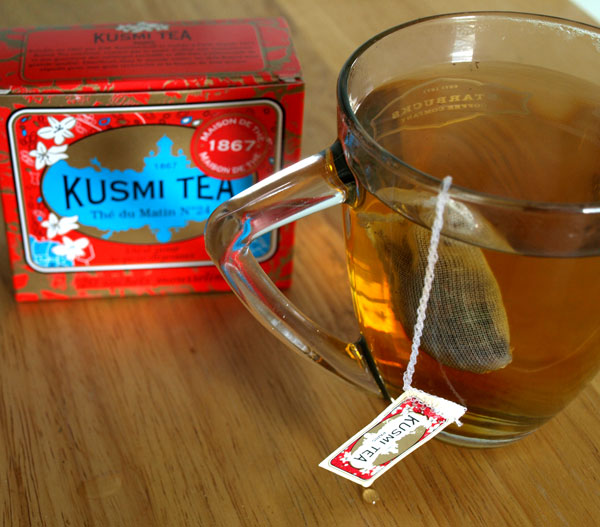 A necessary part of my day. Love the packaging on this Russian tea.