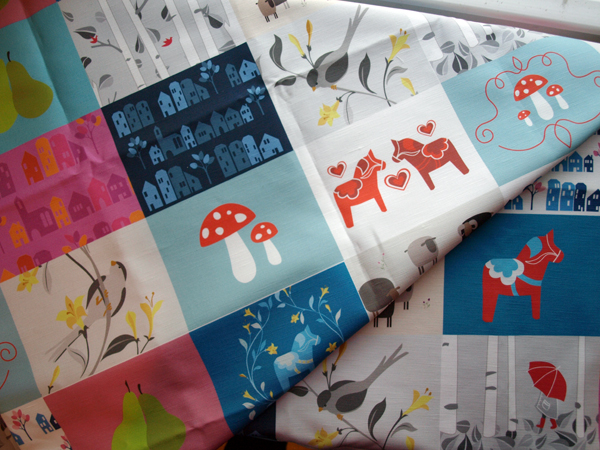 Had I know the postman was bringing me such a treat today, I would have left him a Valentine. So excited to get this fabric back from the printer… and even more excited to show you what I am making with them! Working on one right now…  Happy Valentine's Day!