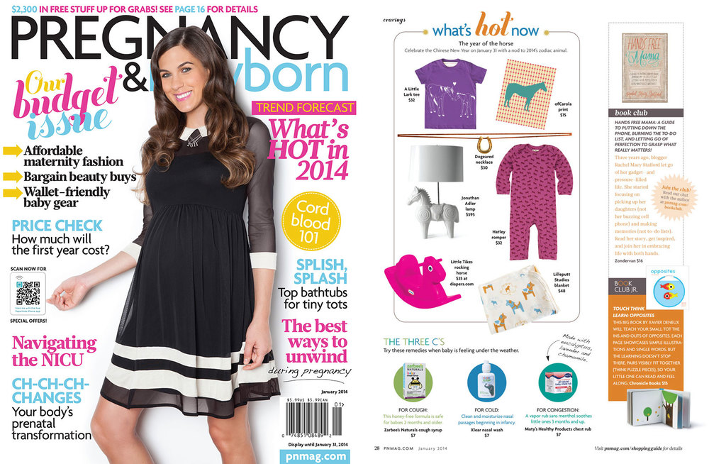 Pregnancy & Newborn Magazine, January 2014 Click here for Product listings on pnmag.com