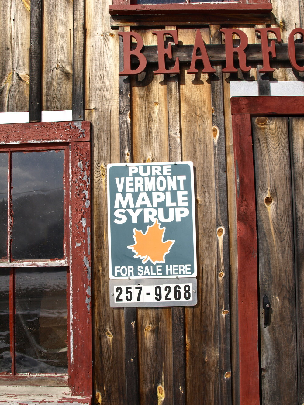 Area code 802. They ship maple syrup if you can't make it in person! But it's a short season, only about 6 weeks, and we're half way through…. so get it fast.