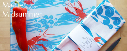Maine lobster, nautical prints, life in maine