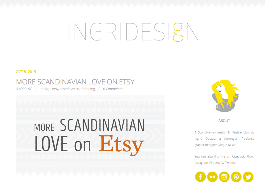 INGRIDESIgN Blog  October 2015