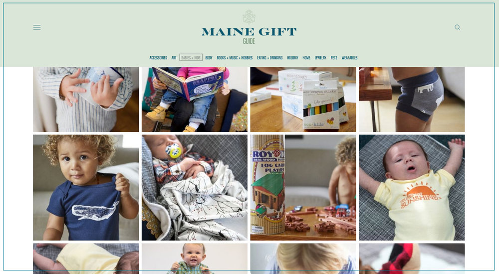 2017 Maine Gift Guide , by Knack Factory and Might&Main   Also featured on the Bangor Daily News here