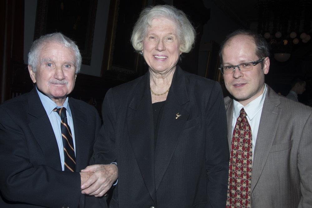 Joseph Caldwell, Susan Brynteson & Steven Burke