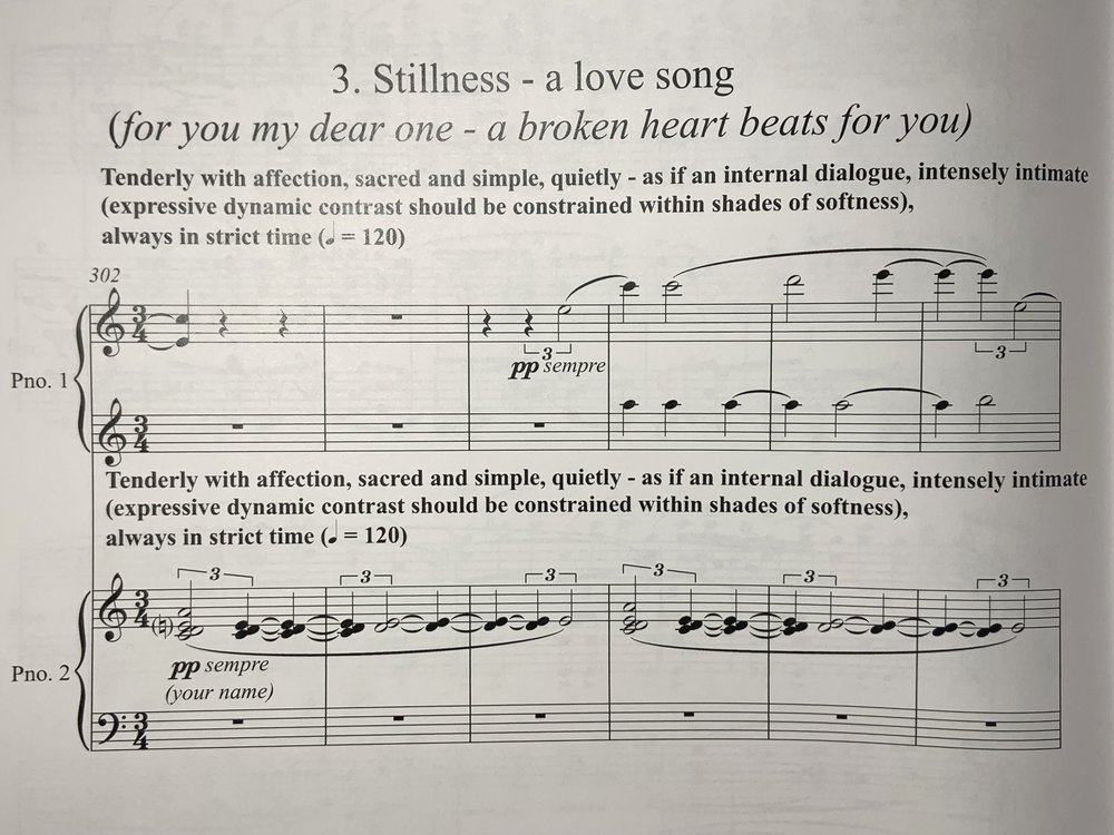 A love song…