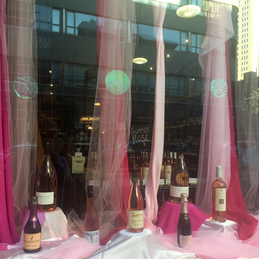 How much is that rosé in the window?