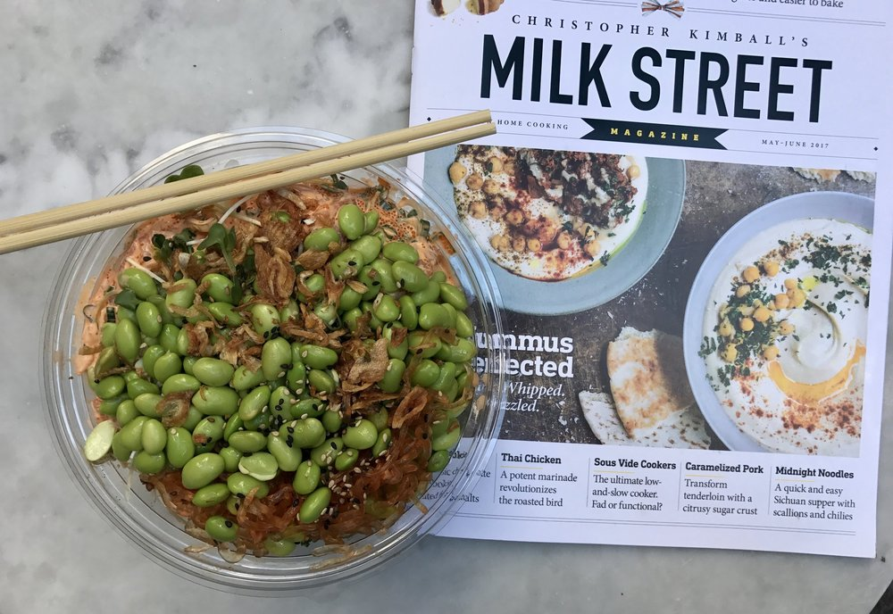 Sweetcatch poke + Milk Street Magazine