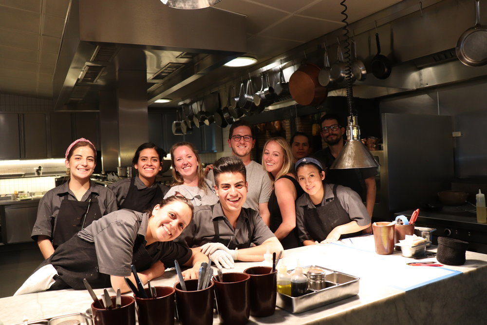 Us + The Kitchen Team