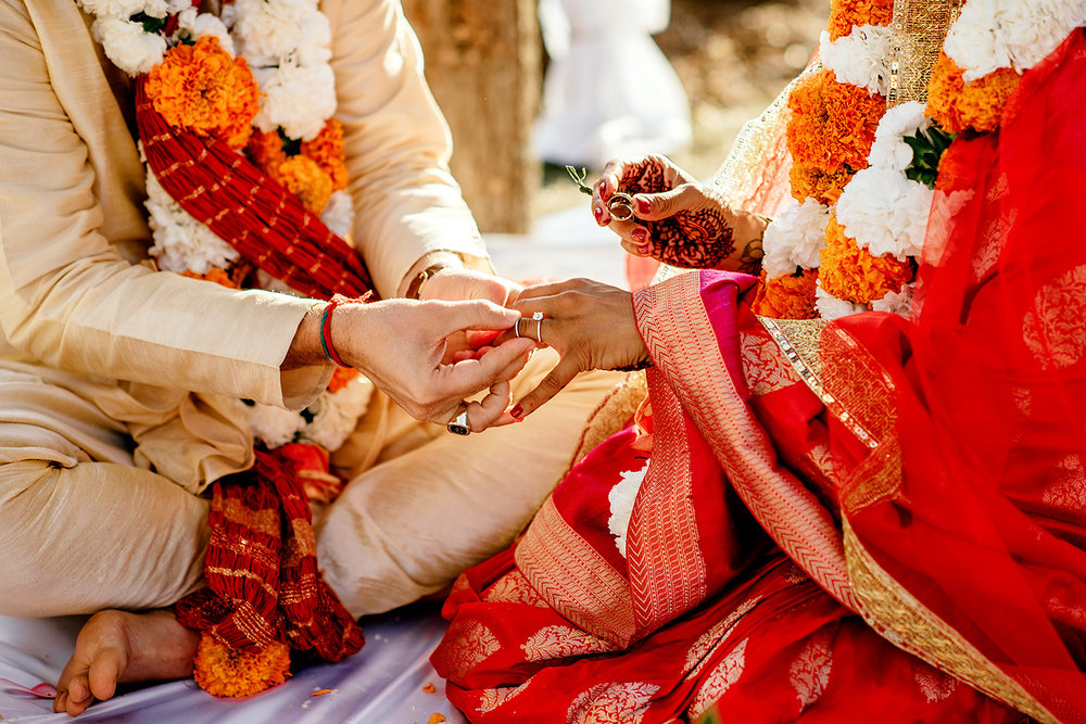 indian wedding ring exchange