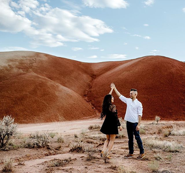 Someone needs to elope at painted hills cause come on!! This places feels like a completely different planet😻😭❤️🙌🏻 . . . . . . . #loveintentionally  #loveauthentic  #photobugcommunity  #weddinging  #engagement #paintedhillsoregon  #paintedhills #elopementphotographer  #weddingphotographer #everydayIBT  #dirtybootsandmessyhair #authenticlovemag #junebugweddings #belovedstories #destinationweddingphotographer  #weddinginspiration #gws #greenweddingshoes  #adventureelopement  #portlandwedding #oregonwedding  #elopementcollective #bohowedding  #meaningfulwedding