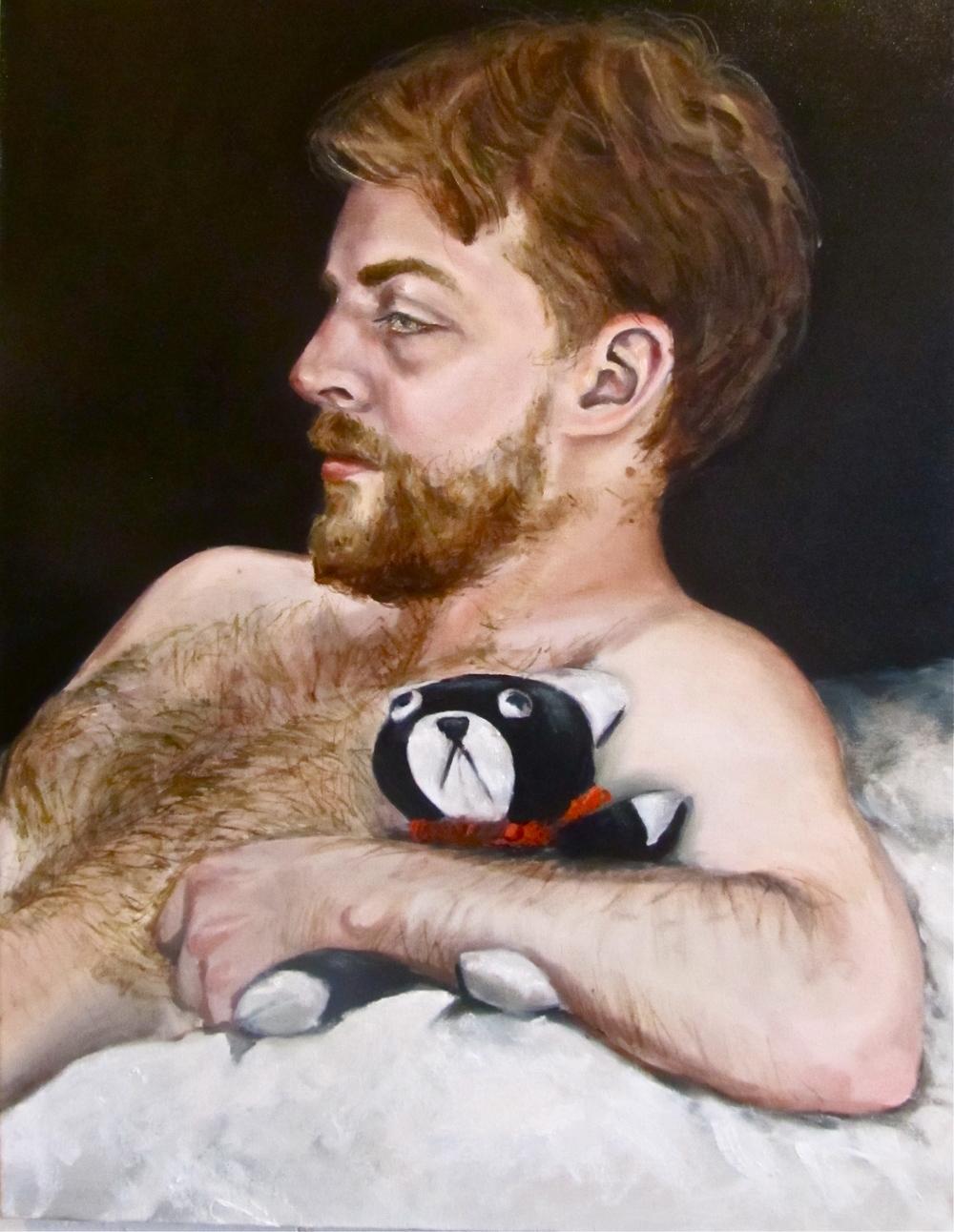 Alastair and his bear