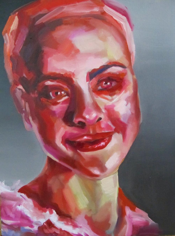 """Sincerity 24 x 20"""" oil on canvas 2014"""