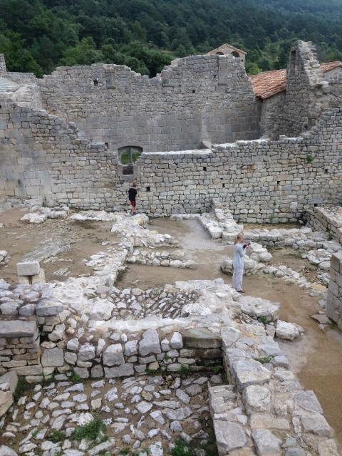 Catalonia: castle ruins