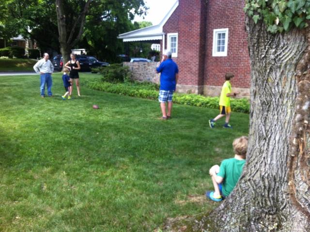 PA family football