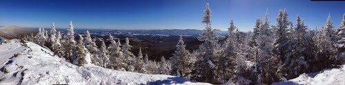 (gorgeous view from the top of Madonna Mountain)