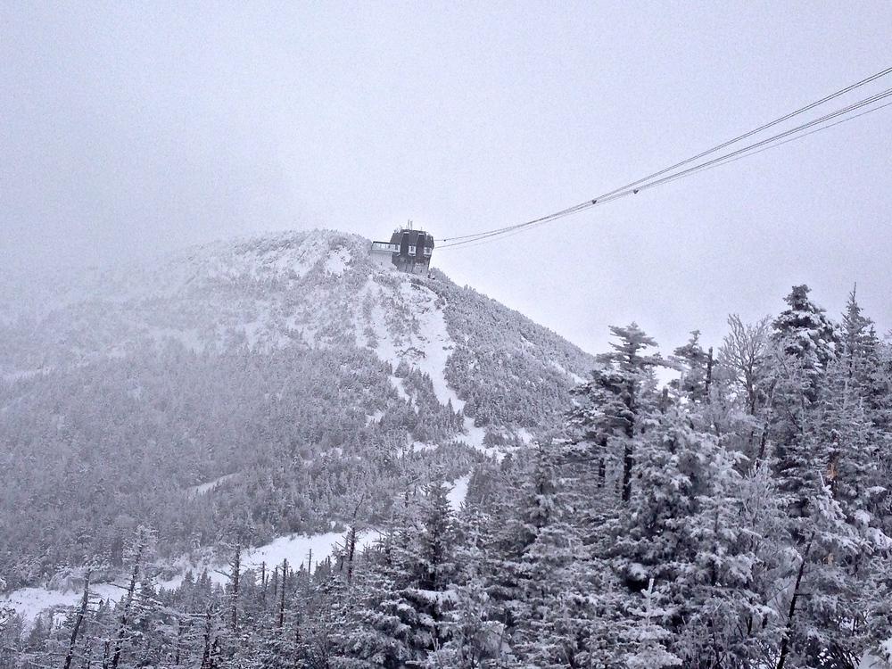 Jay Peak's tram house (2/13)
