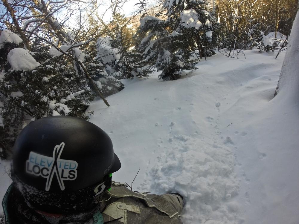 a stuck samoan at Sugarbush 2/3/15