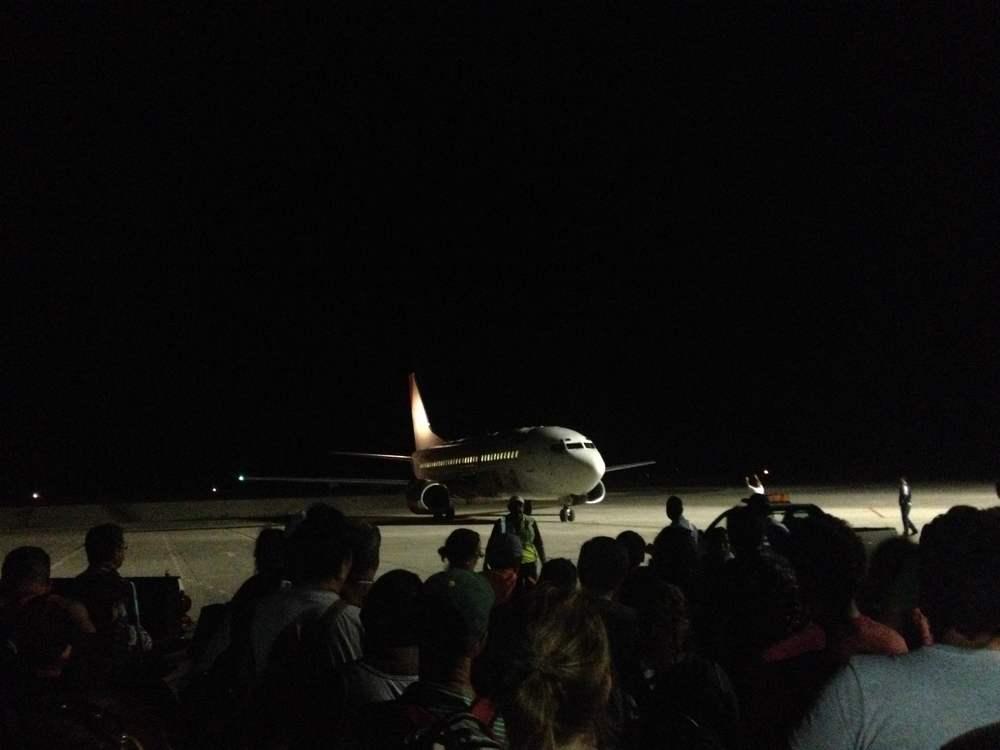 Our rescue plane to Guadalajara, MX
