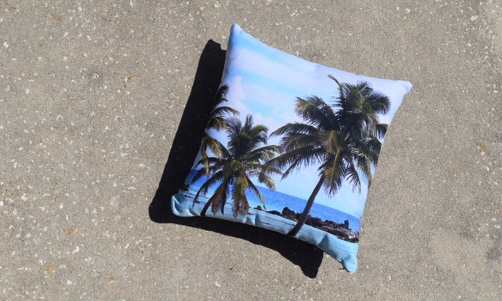 Playa Chen Rio - Throw Pillow - Nature | City Co.