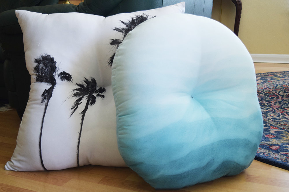 Tufted Floor Pillows