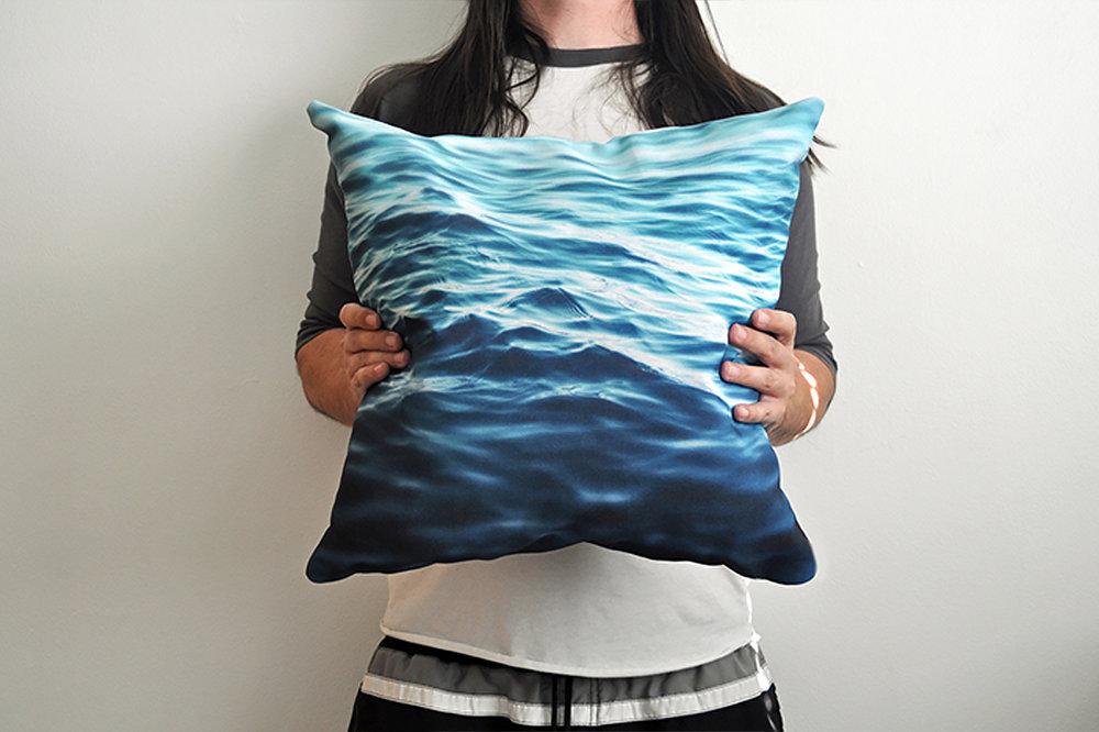 Me Holding DK3 Pillow