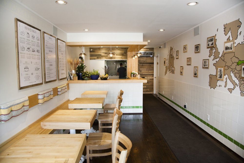Gowanus - Baba's Pierogies opened its doors in April 2015. All pierogies and menu items are made in this very space place, from the dough to the fillings. Come and dine with us or take them home!295 3rd Ave, BK, NY, 11215Tuesday-Saturday 11:30am-10pmSunday 11:30am-9pmPhone Number: 1-718-222-0777Transportation: R to Union Street, F/G to Carroll Street StationLocal delivery available via Caviar