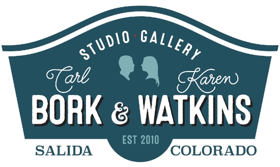 View Available work on my own Gallery Website 149 W. 1st St. Salida, CO 81201 contact: carlborkart@hotmail.com