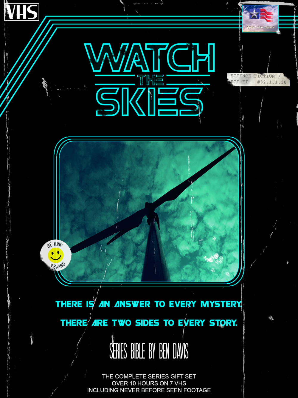 WATCH THE SKIES - PILOT | SCI FI • DRAMA • MYSTERYLOGLINE: A decade after her father's public and mysterious suicide, CARIS struggles to ditch the identity attached to her now infamous last name. However, when a mysterious drifter reveals the shocking truth about her father's death, Caris begins investigating a new world of paranormal mysteries where the cost for truth has never been higher.