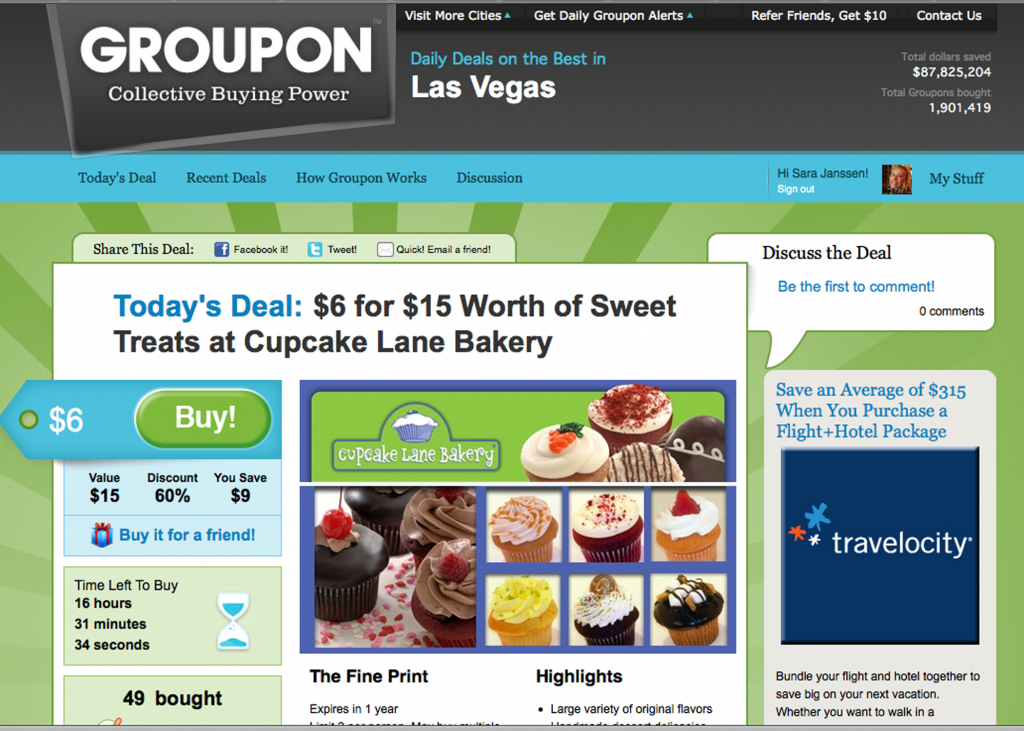 I'm in LOVE with Groupon! — Nesting Gypsy
