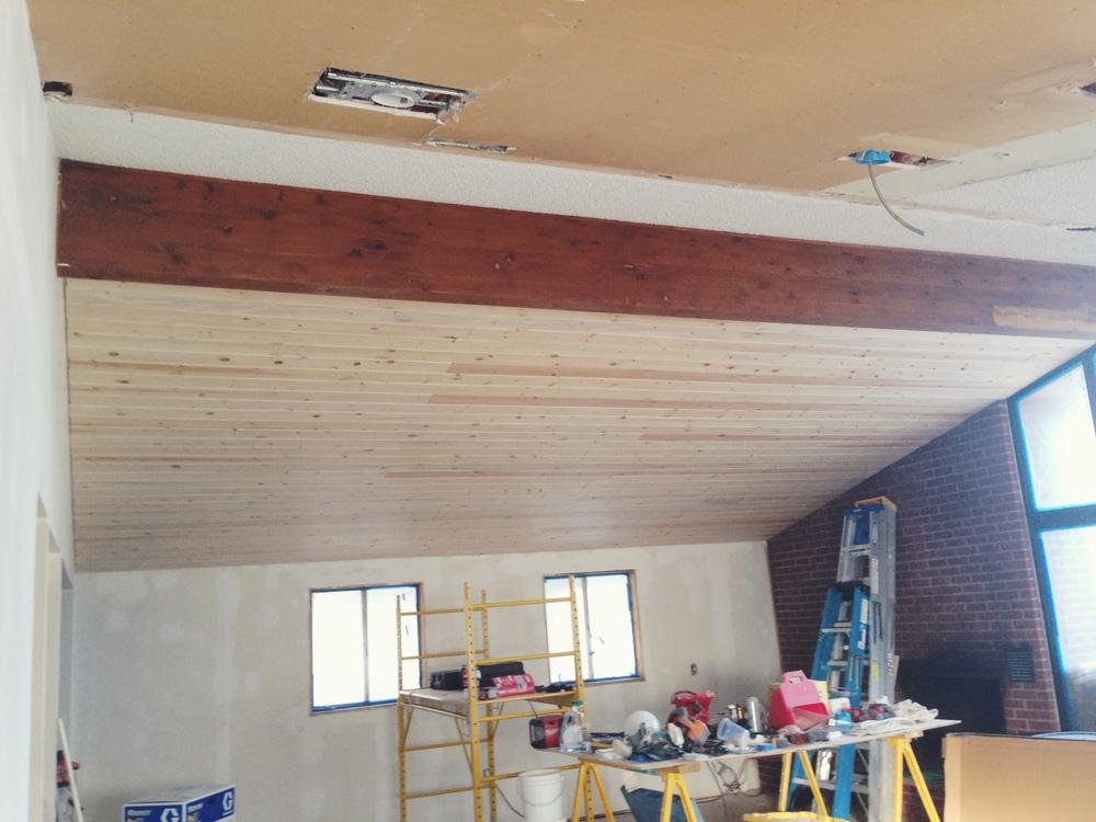 ceiling half done.JPG