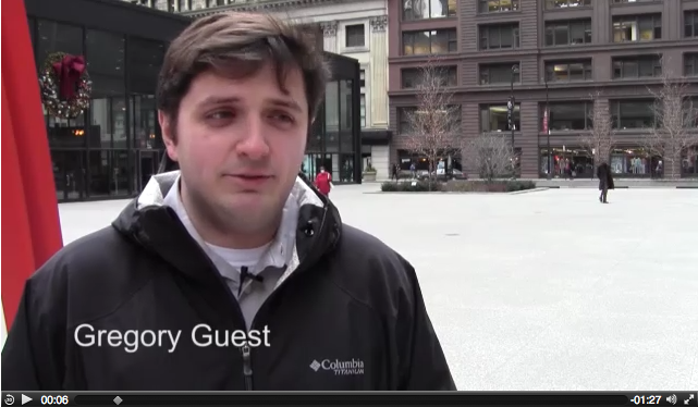 See what Chicago pedestrians think about flu shots and this flu season.