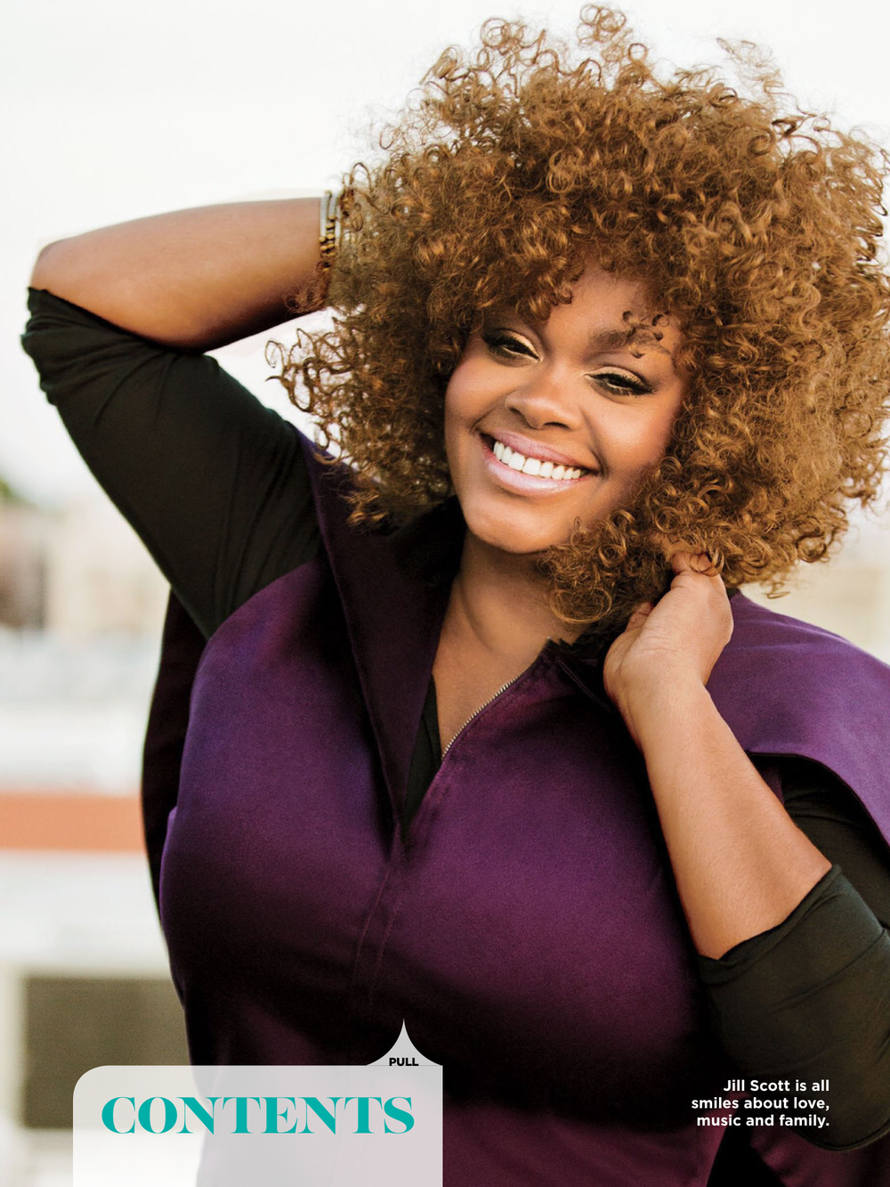 Jill Scott is wearing our Extreme Turtle Neck.  Click here to pre-order yours now http://www.plyapparel.com/shop-ready-to-wear/top-style-100