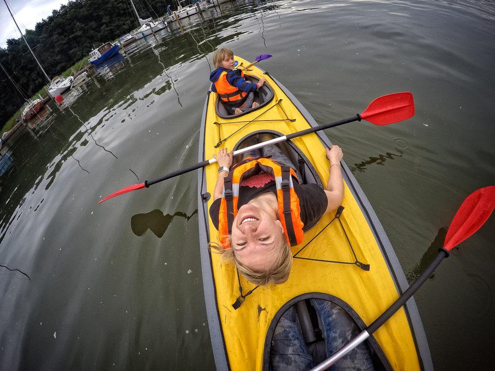 Vesikissa inflatable kayaks
