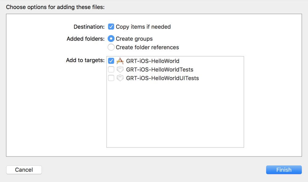 Creating our Hello World iOS App
