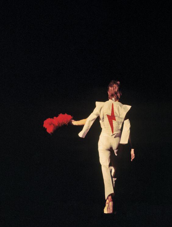 David Bowie,1973 by  Lynn Goldsmith
