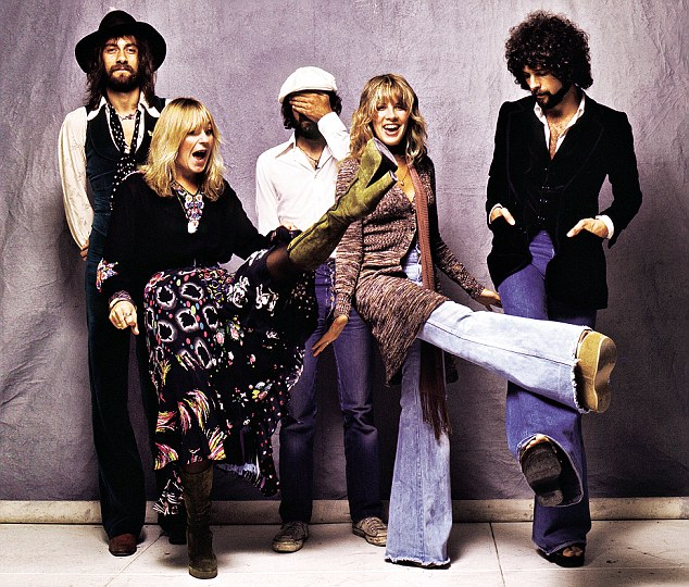 McVie kicking up her heels with Fleetwood Mac