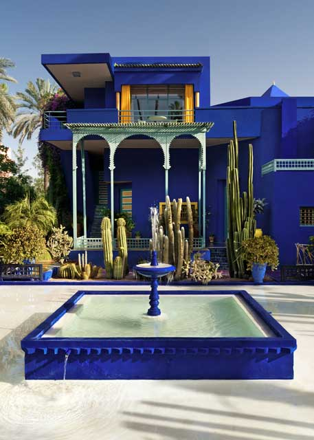 Bliss and mischief yves saint laurent and jardin majorelle for Jardin yves saint laurent marrakech