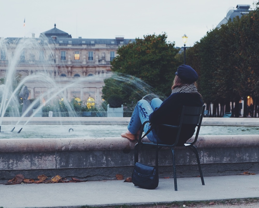 Best seat in the house at the Palais Royal - @jared_richard