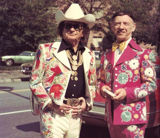 Nudie and Hank Snow
