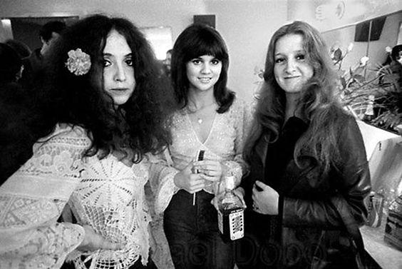 Maria Muldaur, Linda Ronstadt and Bonnie Raitt by Henry Diltz 1974