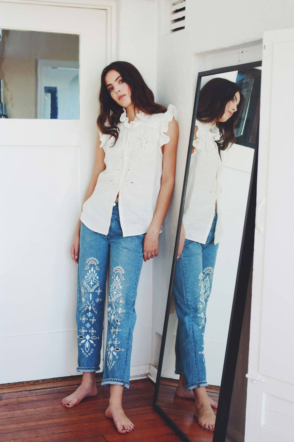Bliss And Mischief - Eyelet Denim
